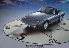 Reliant Scimitar SS1 original Sales Brochure 1300 + 1600cc n/d circa 1985-1986