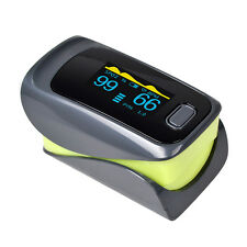 Alarm OLED Fingertip Pulse Oximeter Finger Blood Oxygen SPO2 PR Monitor CE FDA