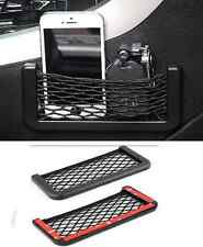 1PCS Auto Car Vehicle Storage Mesh Resilient String Bag Holder Pocket Organizer
