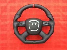 Audi A3 A4 A5 A6 Q7 A8 custom made fond plat 4 spoke steering wheel