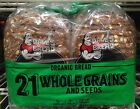 Dave's Killer Bread 21 WHOLE GRAINS AND SEEDS Organic - TWO (2) Loaves