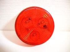 """Optronics 2 1/2"""" Red LED Marker Clearance Light Truck Trailer RV Grommet Mount"""