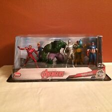 Disney Store Exclusive Marvel Avengers 6 Figurine Playset NEW HTF