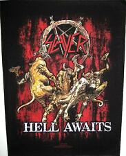 "SLAYER RÜCKENAUFNÄHER / BACKPATCH # 5 ""HELL AWAITS"""