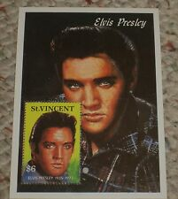 NICE!! SINGLE ELVIS PRESLEY ST. VINCENT $6 POSTAGE STAMP MINT CONDITION