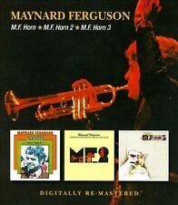 M.F. Horn/M.F. Horn 2/ M.F. Horn 3 by Maynard Ferguson (CD, Jul-2013, 2...