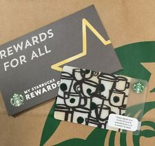 "Starbucks Card 2016 THAILAND with sleeve         ""Tiny Cups"""