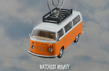1974 Volkswagen T1 Type 2 Bus Christmas Ornament VW Van Kombi Bulli Bay Window