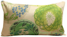 Villa Nova Kabuki Eden Green Bolster Cushion Cover