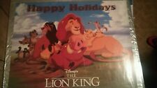 Disney The Lion King Happy Holidays Poster 17 x 22