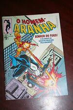 Spider-Man with  Lord of Fire! - brazilian comics 1990