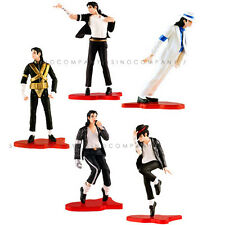 New 5 lot Michael Jackson PVC Film & Stage Classic series Action Figure Boy Toy