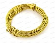 3.5 Brass Picture Wire Strong Hanging Photo Frame Cord Flexible Mirror Hook Wire