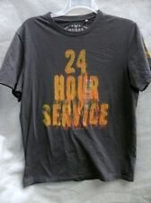Guess 24 Hour Service T Shirt Large NWT