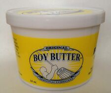 Boy Butter Original - Oil-Based Lubricant - 16oz Tub Lube
