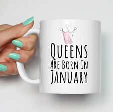Queens Are Born In Any Month Mug | Funny Personalised Coffee Gay Mugs
