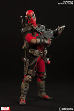 "Sideshow Deadpool Action Figure 1/6 12"" Marvel Comics DOUBLE BOXED BROWN SHIPPER"