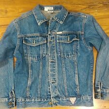Vintage Guess? Womans Denim Jacket Size M By Georges Marciano Made In USA