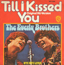 """EVERLY BROTHERS – Till I Kissed You / Bye Bye Love (1974 PROMO REISSUE 7"""")"""