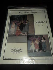 EUC CHRISTY BY KAY GUILES DESIGNS SZ. 3 - 10 ALL PIECES ARE THERE HEIRLOOM