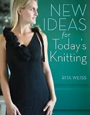 NEW IDEAS FOR TODAY'S KNITTING by Jean Leinhauser and Rita Weiss BRAND NEW