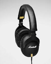 Marshall MONITOR Over-Ear Headphones w/ Microphone - Black