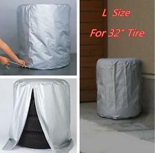Car SUV Tire Rain/Dust-proof Seasonal Protective Cover Spare Tire Storage Bag L