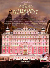 The Grand Budapest Hotel (DVD, 2014) Brand New