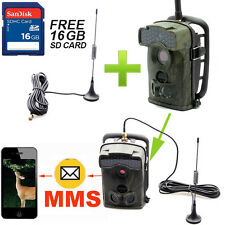 16GB 12MP Little Acorn Ltl-5310WMG MMS GPRS Trail Hunting Camera + Extra Antenna