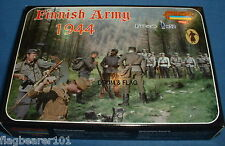 STRELETS M 96 WW2 FINNISH ARMY 1944 1/72 SCALE UNPAINTED PLASTIC FIGURES