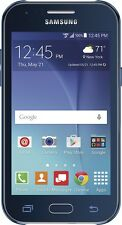 $79.99 Verizon Samsung Galaxy J1 4G LTE  8GB Memory Prepaid Cell Phone Blue New