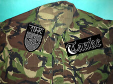 Taake True Norwegian Black Metal Camouflage Army Shirt Jacket Anti-Human Shield
