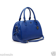 Authentic Lacoste Classic Bowling Bag True Blue PVC New Agsbeagle #COD Paypal