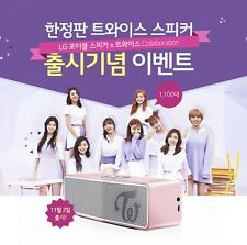 TWICE x LG Collaboration Bluetooth Speaker (Limited edition) From Korea