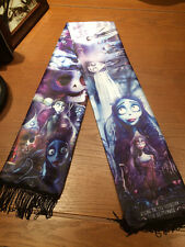 Movie Corpse Bride Johnny Depp Muffler Cos Costume Shawl Quasten Schal Scarf