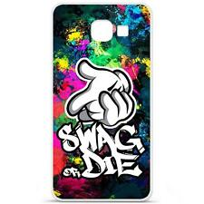 Coque Housse Etui Samsung Galaxy A3(2016) à motif Silicone Gel - Swag Or Die