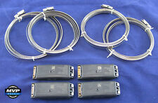 Ford Lincoln Mercury OEM TPM TPMS Tire Pressure Sensors Black Banded - Set of 4