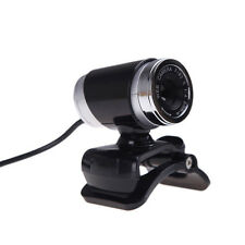 USB 12MP HD Camera Web Cam 360°Rotation with Mic Clip-on for Android TV PC Skype