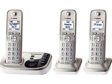 Panasonic KX-TGD223N DECT 6.0 Plus Cordless Phone System w/ Talking Caller ID