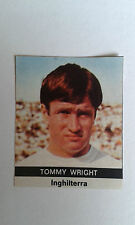 1970 Tommy Wright Everton Sticker only issued in Italy by Radio Courier