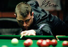 Mitchell MANN SIGNED Autograph 12x8 Photo AFTAL COA Snooker Sheffield Crucible