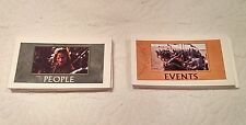 MONOPOLY LORD OF THE RINGS TRILOGY REPLACEMENT CHANCE & COMMUNITY CARDS 41603
