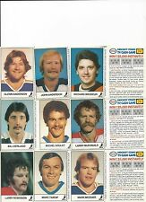 83-84 Esso Hockey Stars TV Cash Game Unscratched Complete Set (21) Mint Rare