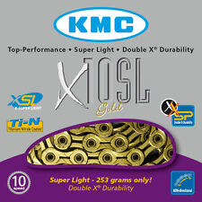 KMC X10-SL-TI Gold 10 Speed Cycle Chain