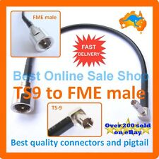TS9 FME Male Patch Fly Pigtail Lead Telstra Usb Wifi Hotspot 3G 4G NextG Antenna