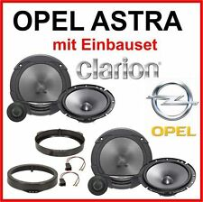 Lautsprecher Boxen OPEL ASTRA G   Türe Clarion 2-Wege mit Adapter Einbauset