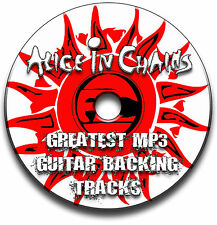 ALICE IN CHAINS STYLE ROCK GUITAR MP3 BACKING TRACKS CD ANTHOLOGY LIBRARY