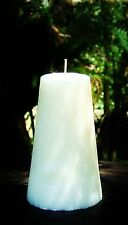 Huge 220hr WHITE DIAMONDS Perfume Triple Scent CONE CANDLE Womens Fragrances