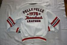 Pelle Pelle THROWBACK MEN'S LEATHER JACKET #21224 WHITE 44 L AUTHENTIC BRAND NEW