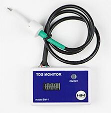HM Digital SM-1 Single Inline TDS Meter, Reverse Osmosis TDS Meter, New in-line